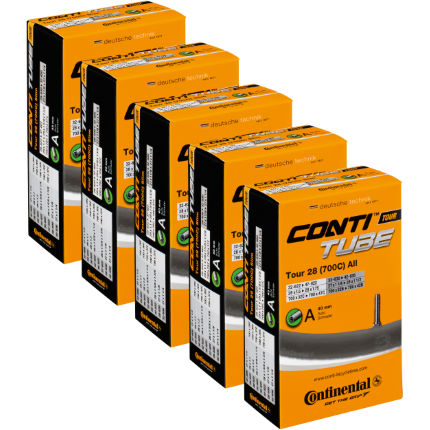 Continental Quality Road Pack of 5 Inner Tubes