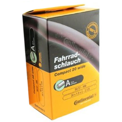 "Continental Quality Compact 20"" and 24"" Inner Tube"