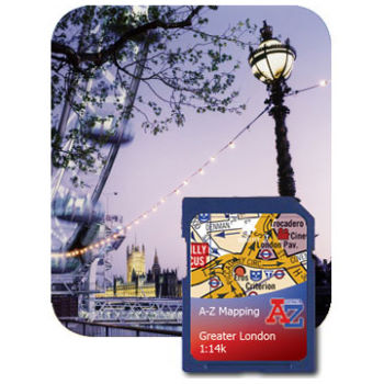 Satmap AZ Greater London 1:14k  SD Card