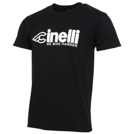 Cinelli Bike Harder T-shirt - Herr