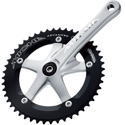 Miche Primato Advanced Silver Track Chainset
