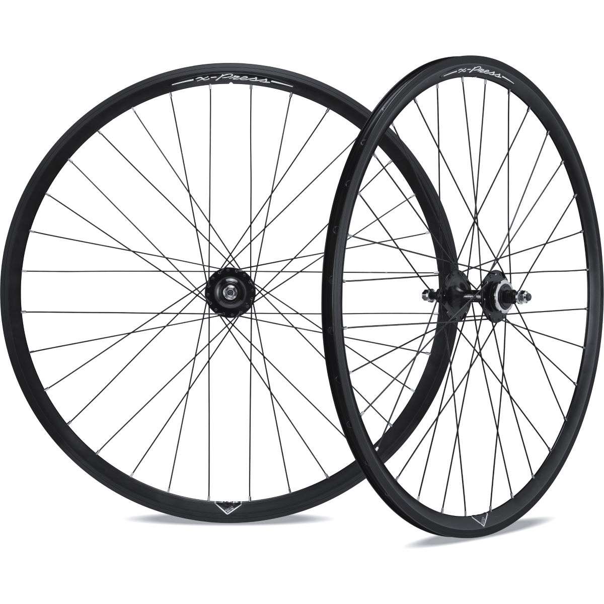 Roues de piste/route Miche X-Press - 700c - Track Only Noir Roues performance