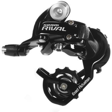 SRAM Rival 10 Speed Rear Derailleur - Short Cage