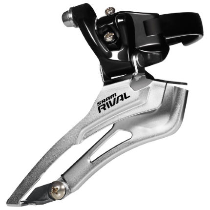 SRAM Rival Black Front Derailleur (Band-On)