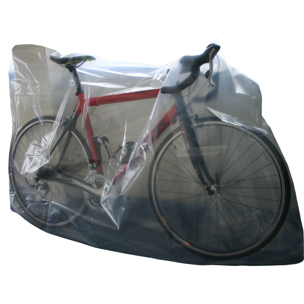Housses de v lo souples ctc cycling uk plastic bike for Housse pour velo