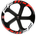 Fast Forward Carbon 5 Spoke Track Tubular Front Wheel