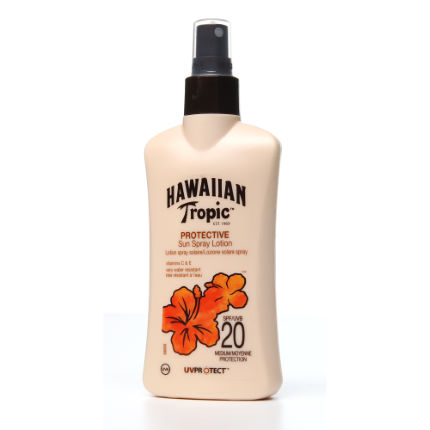 Hawaiian Tropic Maximum Sensitive Spray Lotion SPF20 200ml