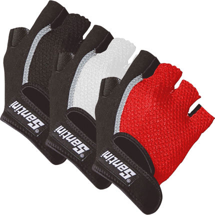 Santini Gel Short Finger Gloves