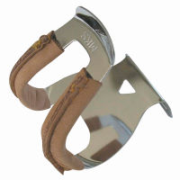 MKS Half Deep Section Toe Clip with Leather