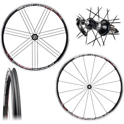 Campagnolo Zonda Clincher Road Bike Wheelset 2012