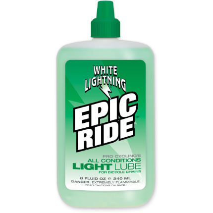 Flacone di lubrificante Epic Ride 240ml - White Lightning