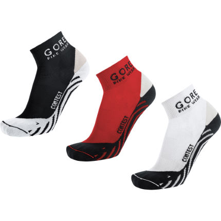 Gore Bike Wear Contest Cycling Socks - Pack of 3