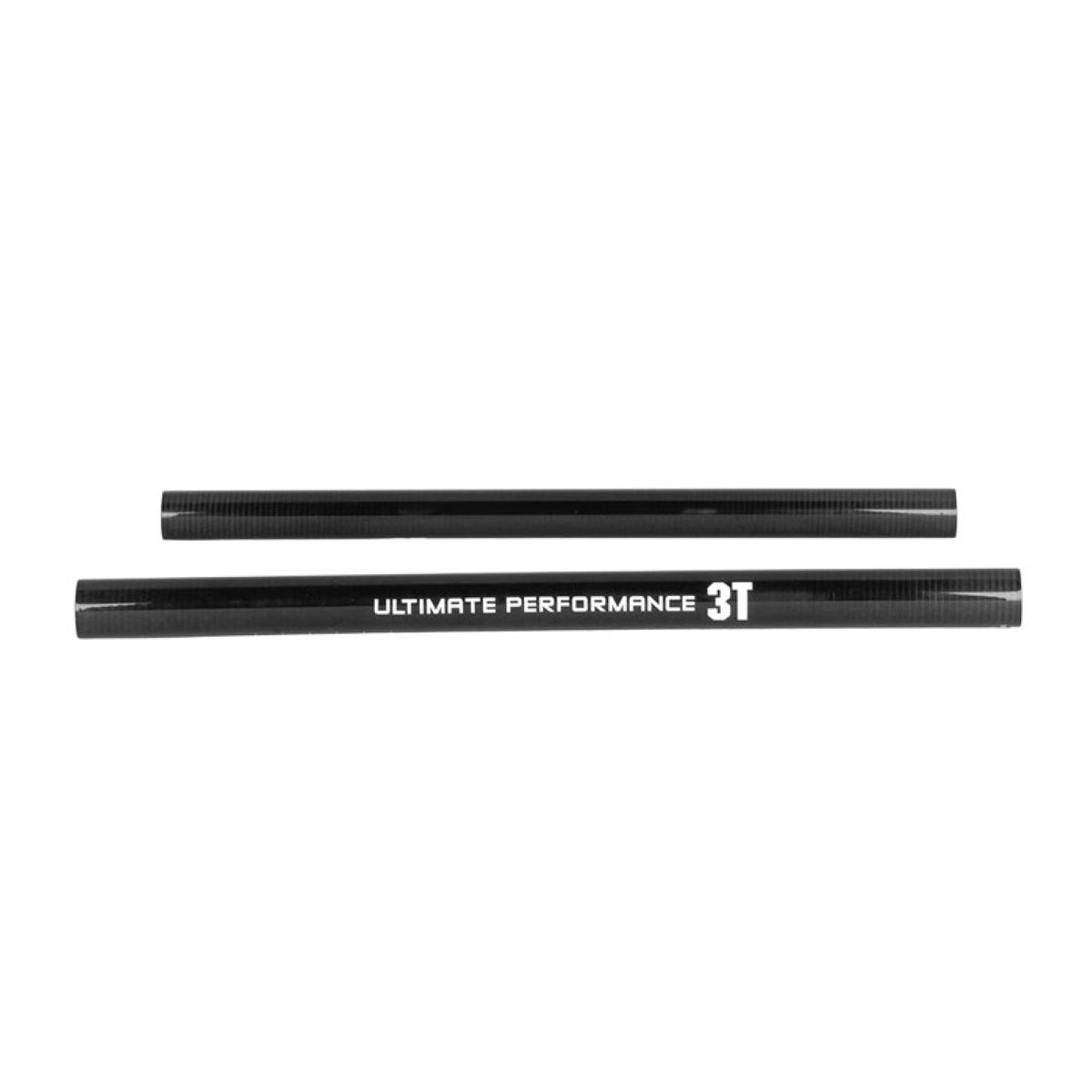 Extensions 3T Team Straight Aero (kit clip-on, carbone) - Taille unique Carbone Prolongateurs de cintre