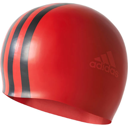 Bonnet Adidas 3 bandes (silicone)