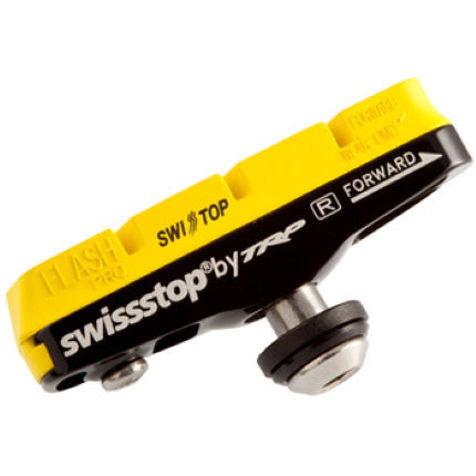Swissstop Flash Pro Yellow Carbon Rim Brake Blocks