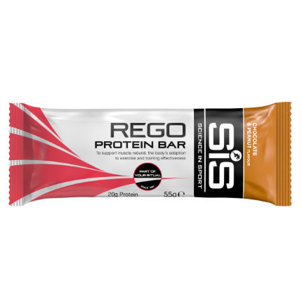 Science in Sport Rego Protein Bar (Build) - Box of 20 x 55g