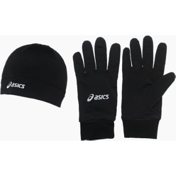Asics Running Pack (Beanie and Gloves) AW12