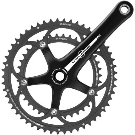 Campagnolo Veloce 10 speed Power Torque double crankstel