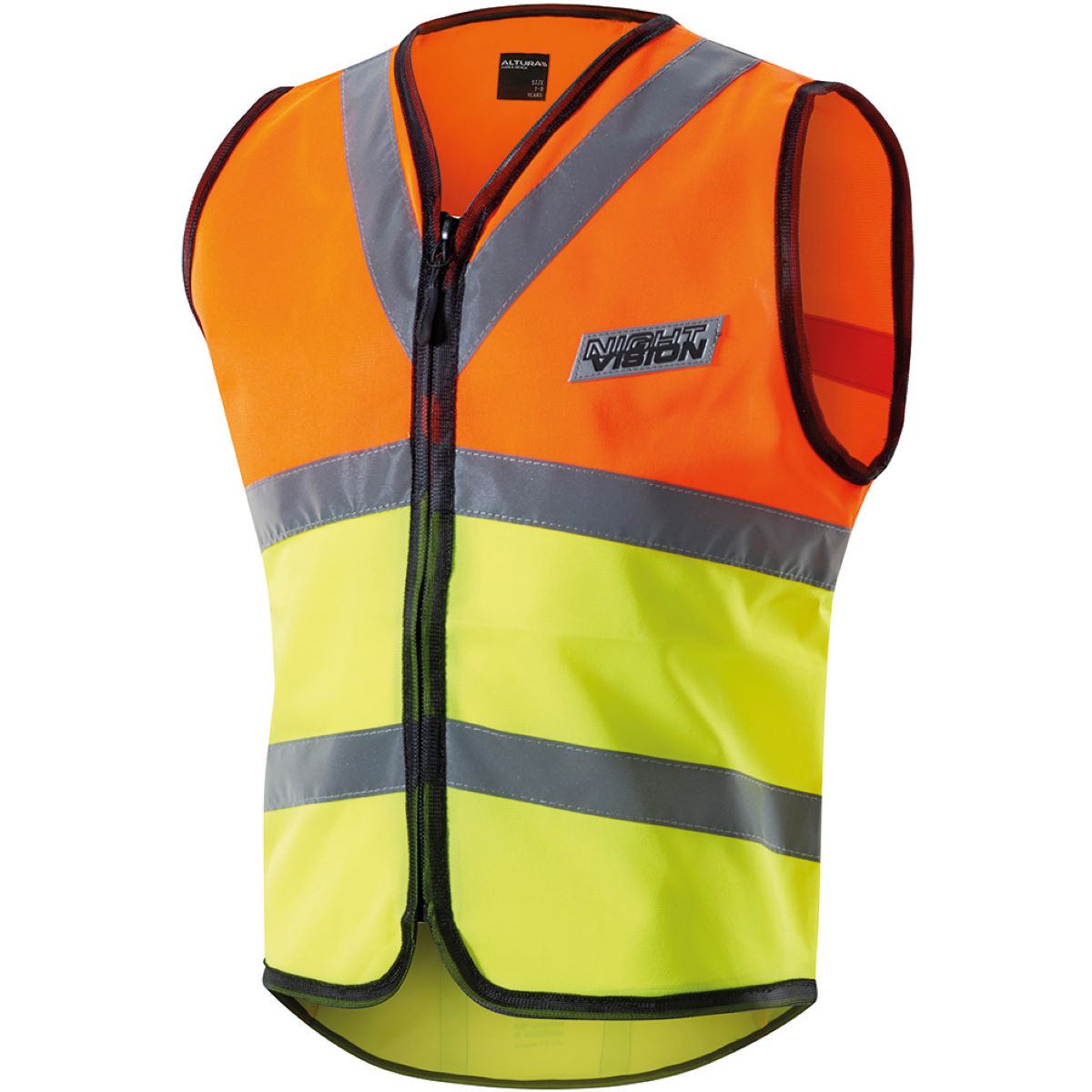 Gilet de sécurité Enfant Altura Night Vision - 7-9 years Jaune fluo