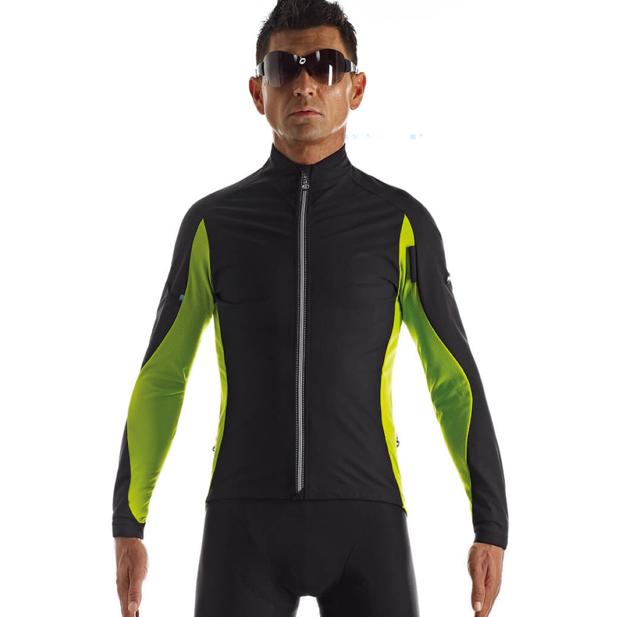 Veste coupe-vent Assos iJ.HaBu5 - Small Piton Green Coupe-vents vélo
