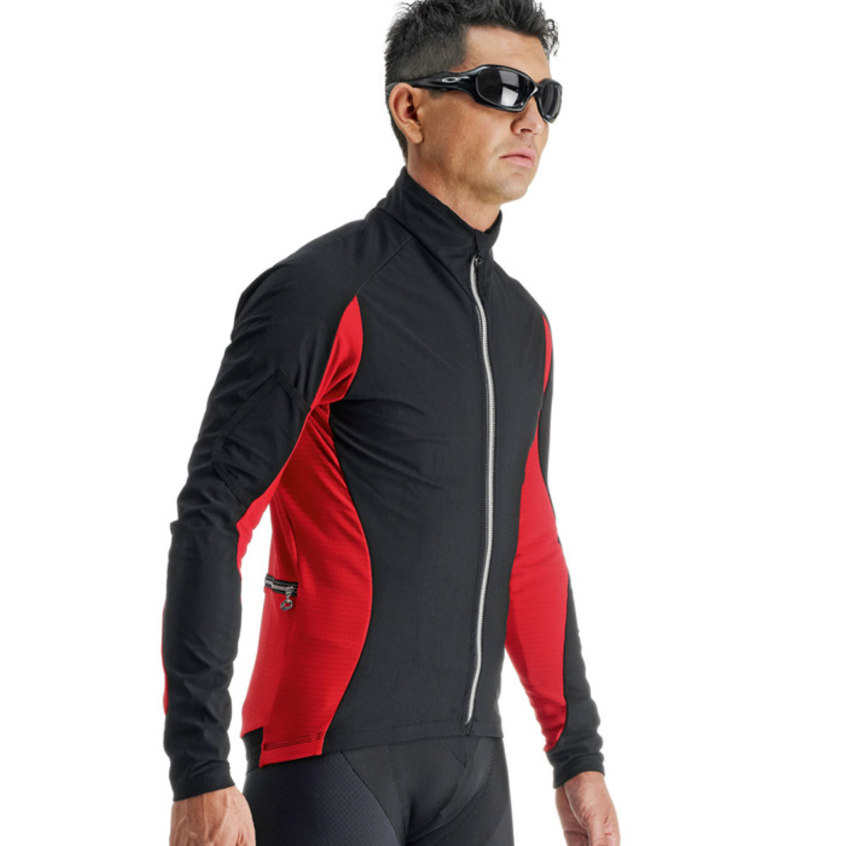Veste coupe-vent Assos iJ.HaBu5 - M Red Swiss Coupe-vents vélo