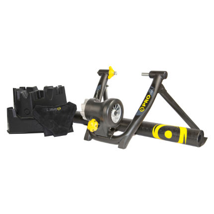 CycleOps Jet Pro Winter trainer met vloeistofrem