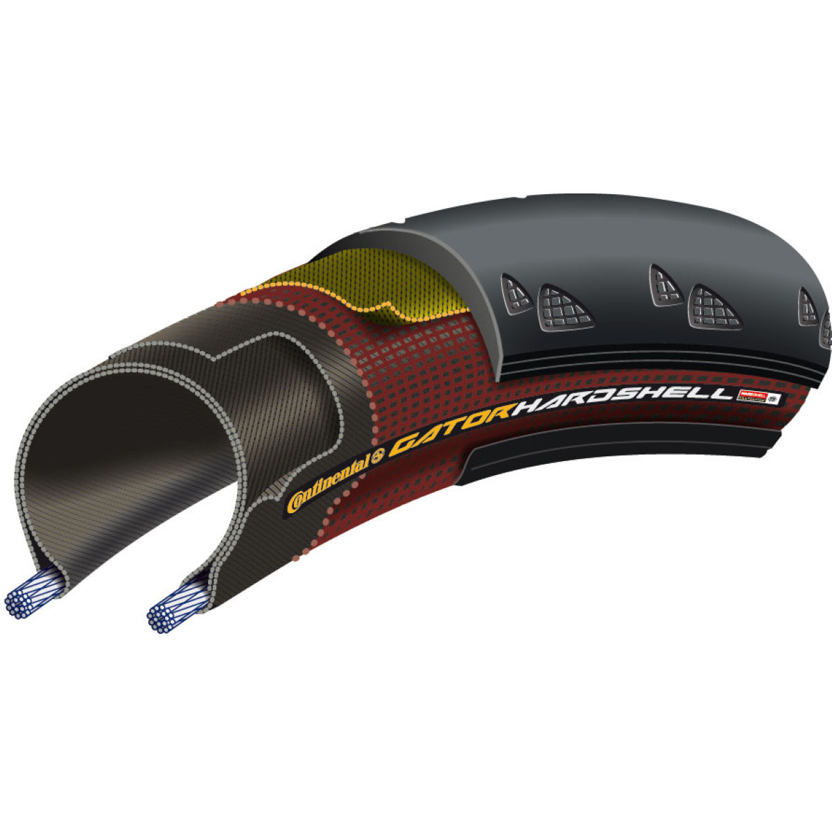 Continental GatorHardshell Folding Road Tyre