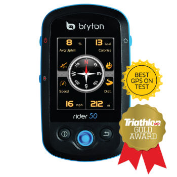 bryton Rider 50T GPS Cycle Computer with Heart Rate