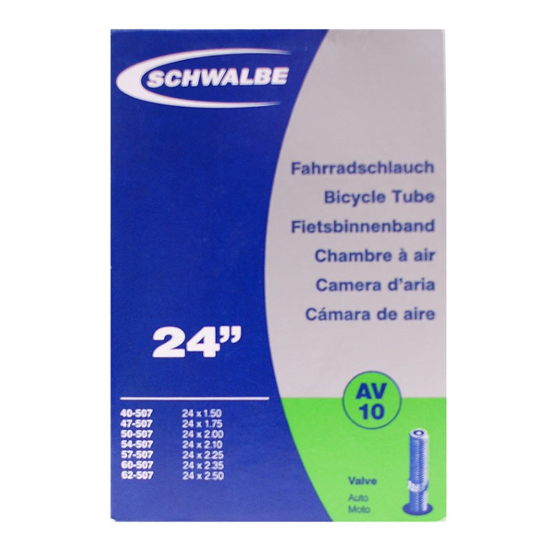 Chambres air vtt schwalbe 16 inch inner tube for for Chambre a air pour velo