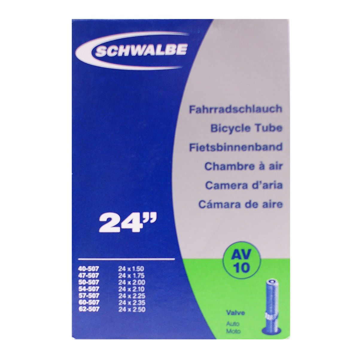 Schwalbe 24 Inch Inner Tube for Children's Bikes