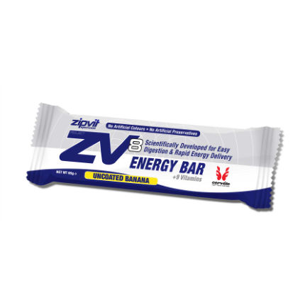 ZipVit Sport ZV8 Uncoated Energy Bars 20 x 55g