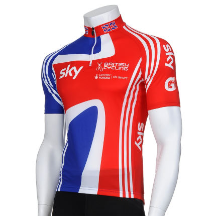 Adidas Cycling GB Cycling Team Short Sleeve Jersey
