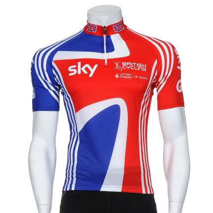 Adidas GB Cycling Team Short Sleeve Jersey