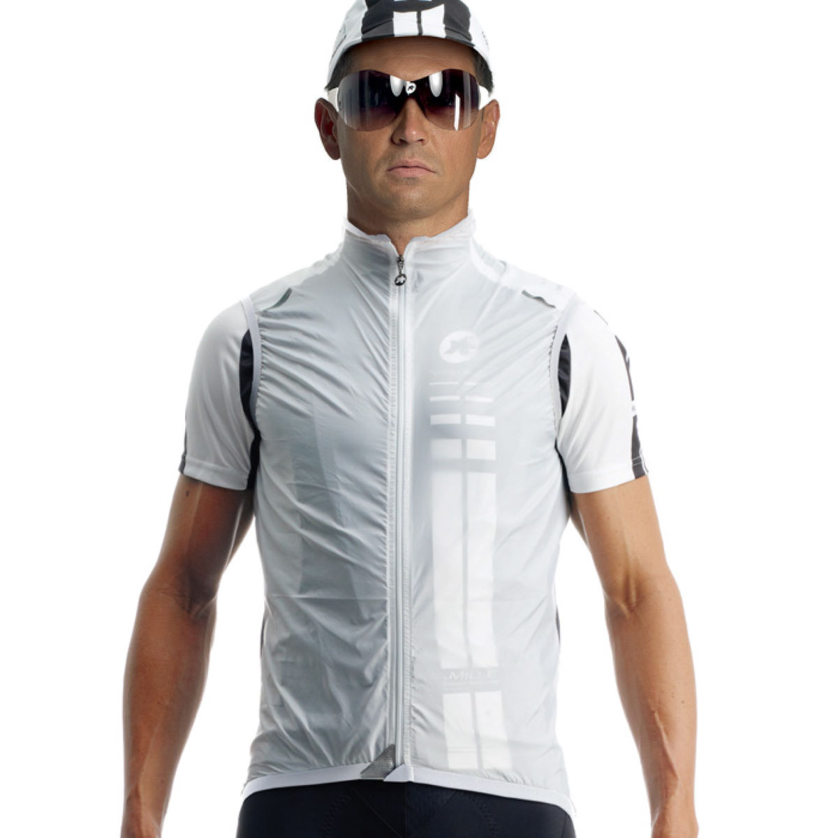 Gilet sans manches Assos sV.blitzFeder - XLG White Panther