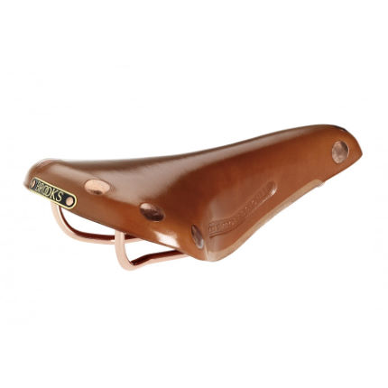 Brooks England Team Pro Saddle with Copper Rails