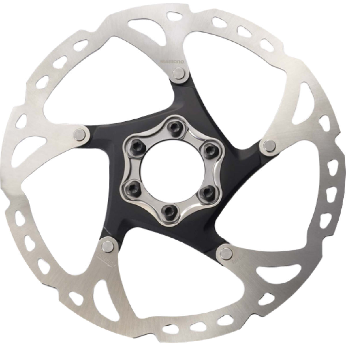 Shimano XT RT76 180mm 6-Bolt Disc Rotor