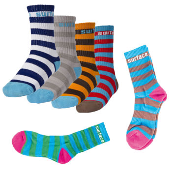 Surface Crew Stripe Socks