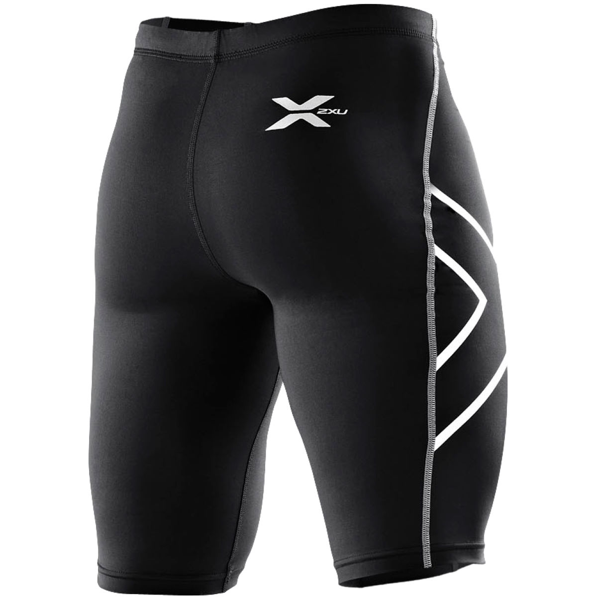 Cuissard 2XU Compression - S Black/Silver Logo Sous-vêtements compression