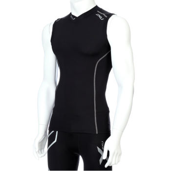 2xu Men's sleeveless compression top
