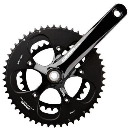 SRAM Apex Compact Chainset with White Decals