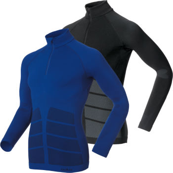 Odlo Evolution Warm Half Zip Long Sleeve Baselayer