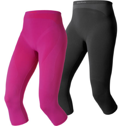 Odlo Ladies Evolution Warm 3/4 Base Layer Shorts