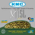KMC X11-SL Gold 11 Speed Chain