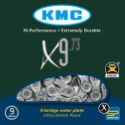 KMC X9-73 9 Speed Chain