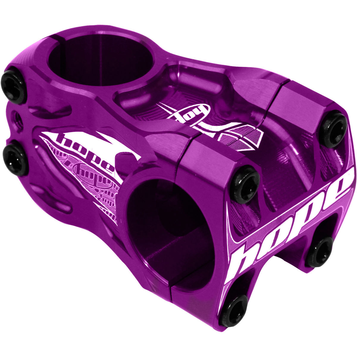 Potence oversize VTT/Descente Hope - 0 Deg 50mm 6 Degrees Mauve