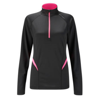 Ronhill Ladies Vizion Reactive Thermal 1/2 Zip Tee aw11