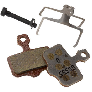 Avid Elixir Organic Brake Pads and Aluminium Backplate