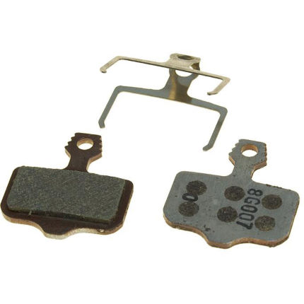 Avid Elixir Organic Brake Pads and Steel Backplate