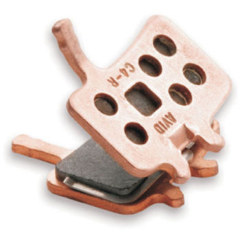 Avid Code Organic Brake Pads with Aluminium Backplate