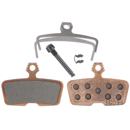 Avid Code Sintered Brake Pads with Steel Backplate